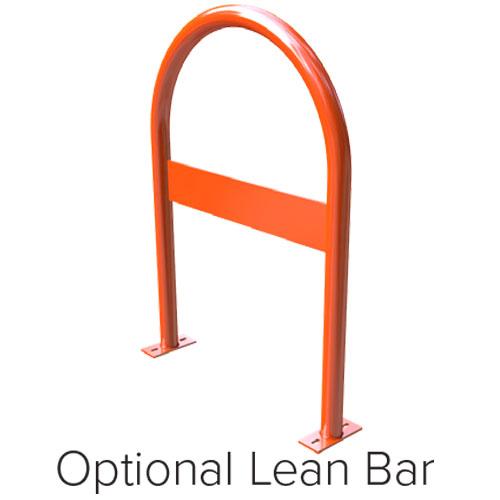 Hoop Bike Rack Lean Bar