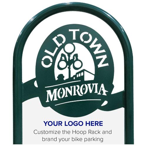 Hoop Bike Rack Logo