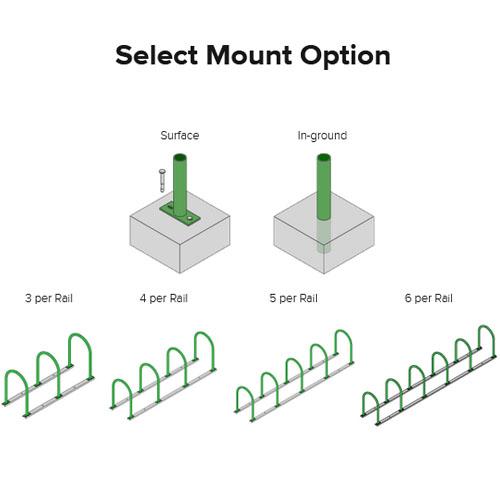 Hoop Bike Rack Mount