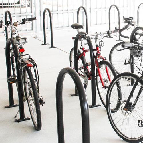 Hoop Bike Rack System