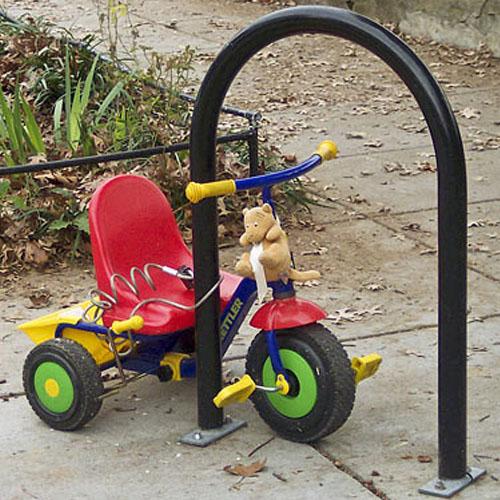 hoop bike rack