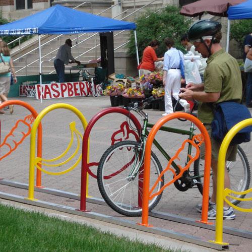 Hoop Bike Racks Logo