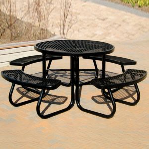 Coated Metal Picnic Tables