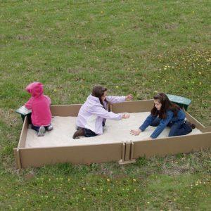 Tot Town Large Sandbox