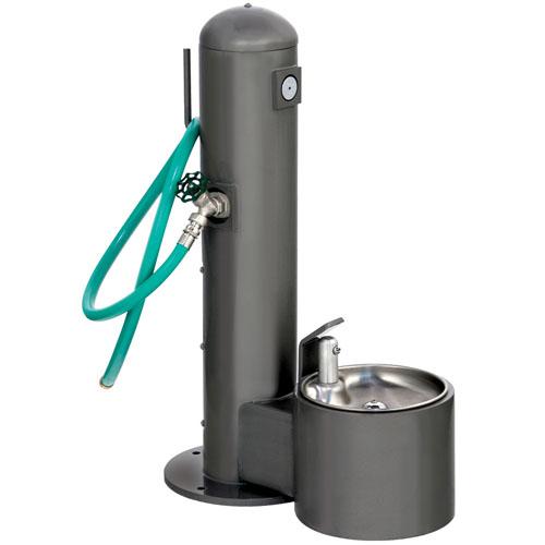 Metal Pedestal Pet Fountain