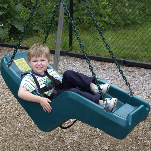 Molded Swing Seat Set