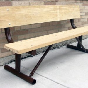 Monster Series Portable Wood Bench