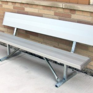 Monster Series Square Aluminum Bench