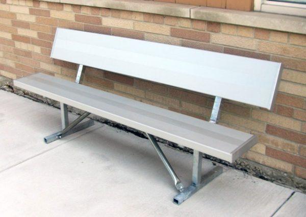 Monster Series Square Aluminum Bench