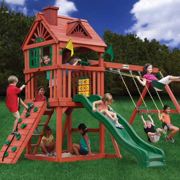Nantucket Cedar Swing Set