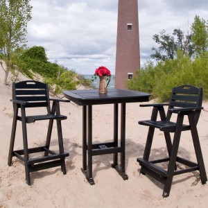 "POLYWOOD® Nautical 37"" Bar Table"