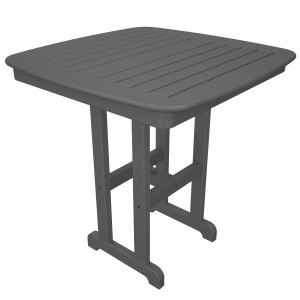 "POLYWOOD® Nautical 37"" Counter Table"