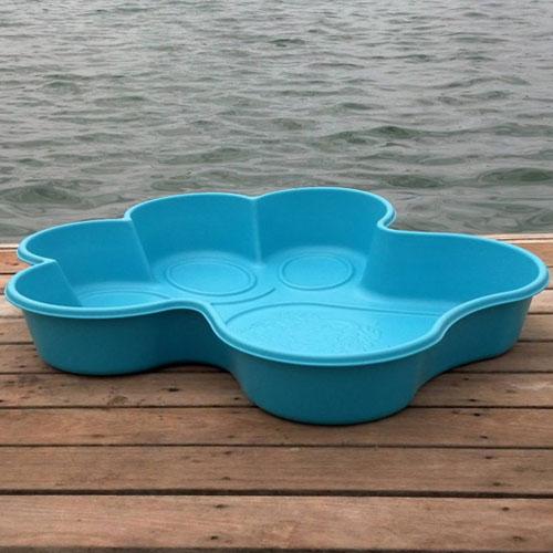 paw pool blue
