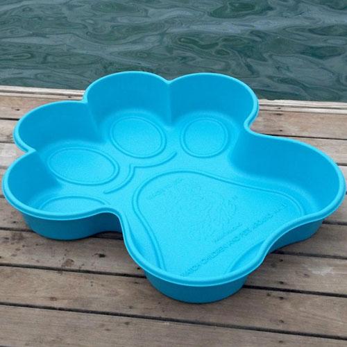 paw pools blue