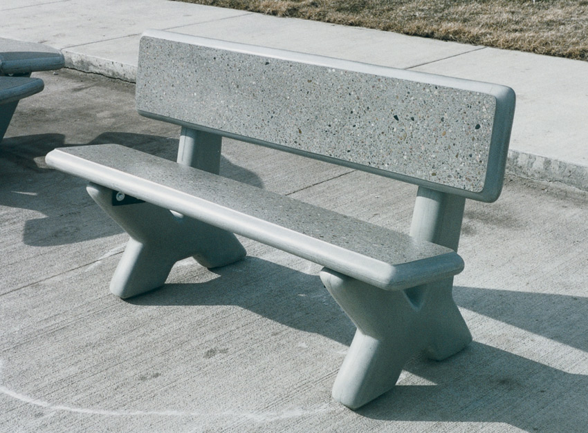 Pb X Series Concrete Bench