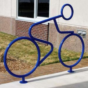 Person Shaped Bike Rack