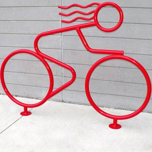 Person Shaped Bike Rack