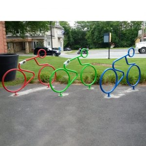 Person Shaped Bike Rack Systems