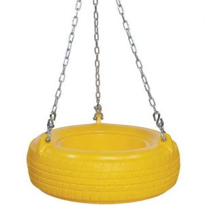 Swing Plastic Tire Seat