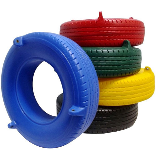 Swing Plastic Tire Seat Colors