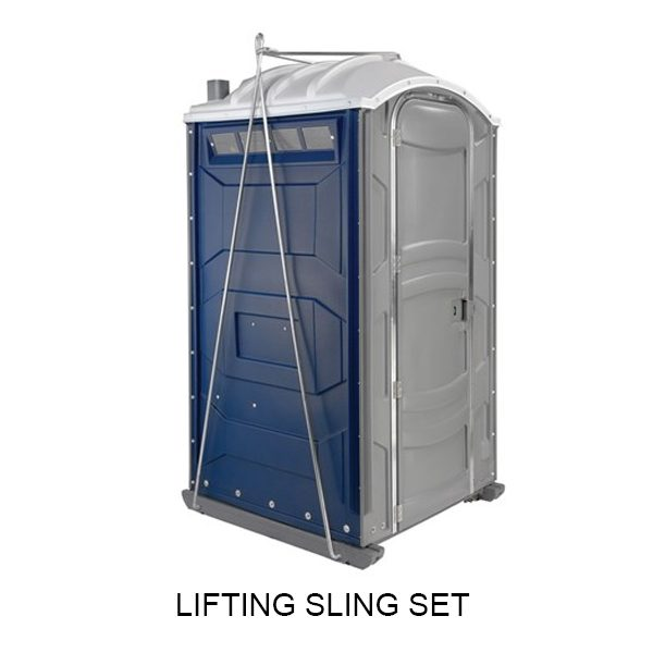 portable toilet lifting sling