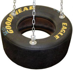 Racing Tire Playground Swing Seat
