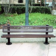 Regal Park Bench with Square Legs
