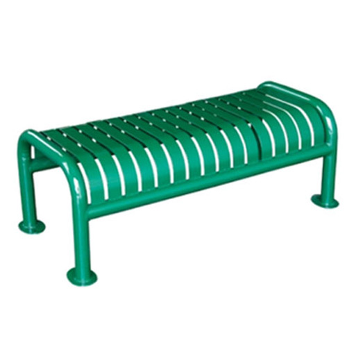 Ribbon Style Backless Bench