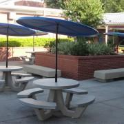 42″ Round Concrete Picnic Table
