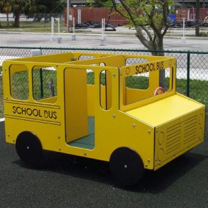 School Bus Multi Spring Rider