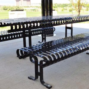 Serenity Picnic Table and Benches