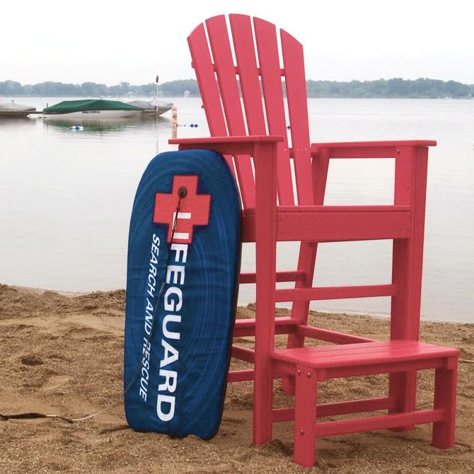Charmant POLYWOOD® South Beach Lifeguard Chair