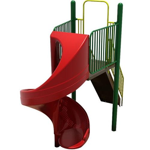 spiral slide playsets