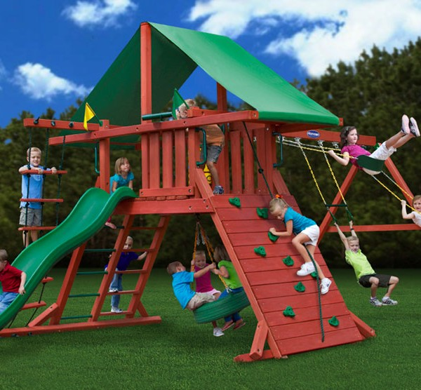 Sun Valley I Cedar Swing Set