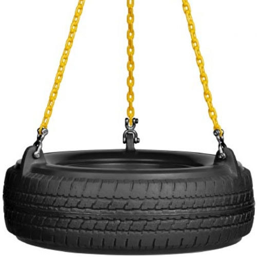 Swing Plastic Tire Seat Set
