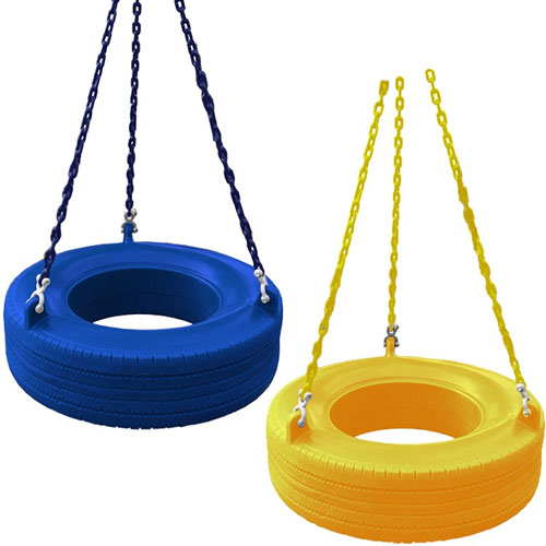 Swing Plastic Tire Seats