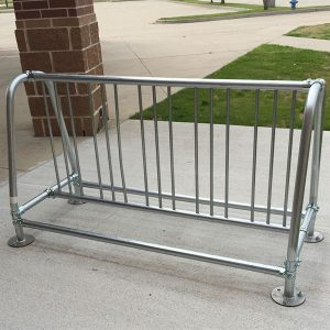 Traditional Double-Sided Bike Rack
