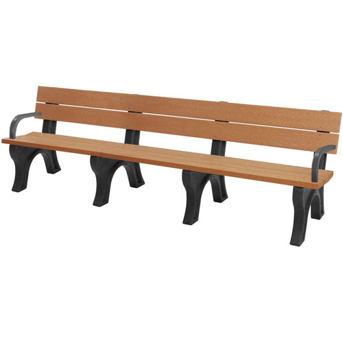 Traditional Recycled Park Bench 8ft