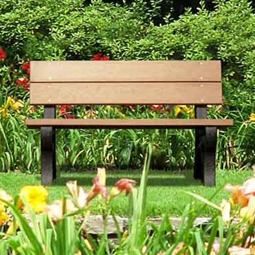 Traditional Recycled Park Benches