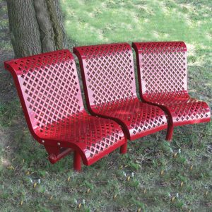 Transit Curved Bench