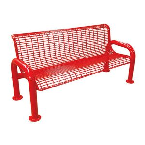 6ft. U-Leg Wire Bench