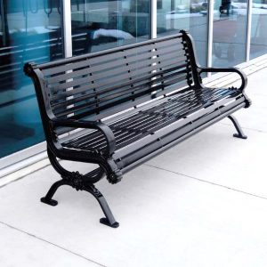 Powder Coated Park Benches