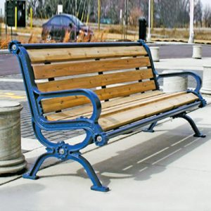 Wood Park Benches