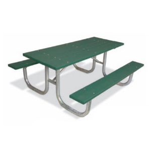 Extra Heavy Duty Recycled Plastic Table