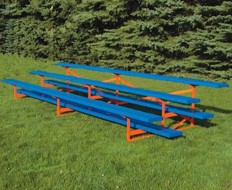 3 Row Powder Coated Bleachers