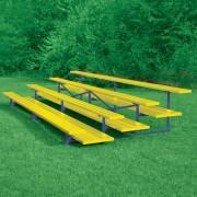 4 Row Powder Coated Bleachers