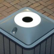 33 Gallon Infinity Recycling Bin