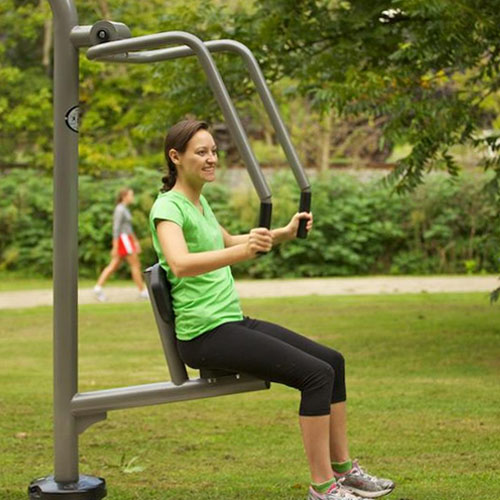 chest press 2 outdoor exercise equpment