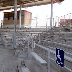 grandstands and bleachers