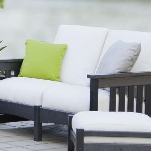 POLYWOOD® Club Mission Settee